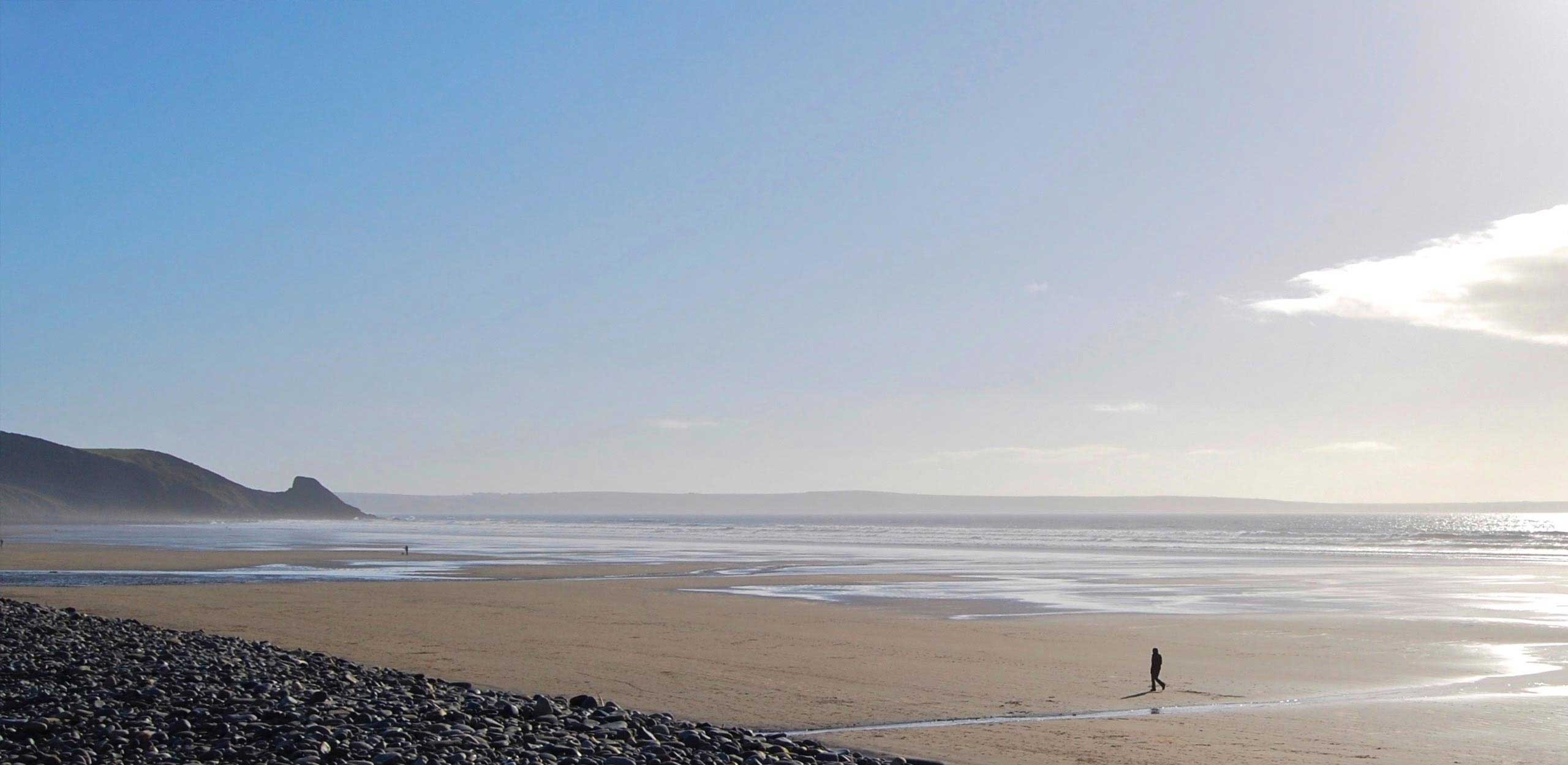 Newgale beach on Pembrokeshire's west coast