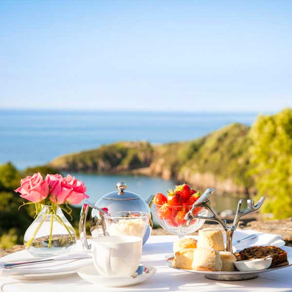 Treat yourself to breakfast with a view